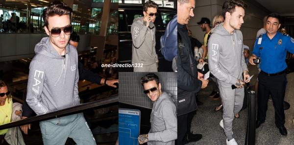 le 28 juin 2017 - niall arriver à  Sydney, Australia