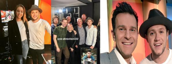 le 30 juin 2017 - niall à la Today Show in Sydney, Australia