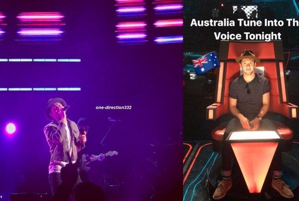 le 3 juillet 2017 - niall avec des fan à Sydney, Australia