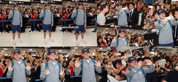 le 4 juillet 2017 - niall à été vus à l'Airport au japon