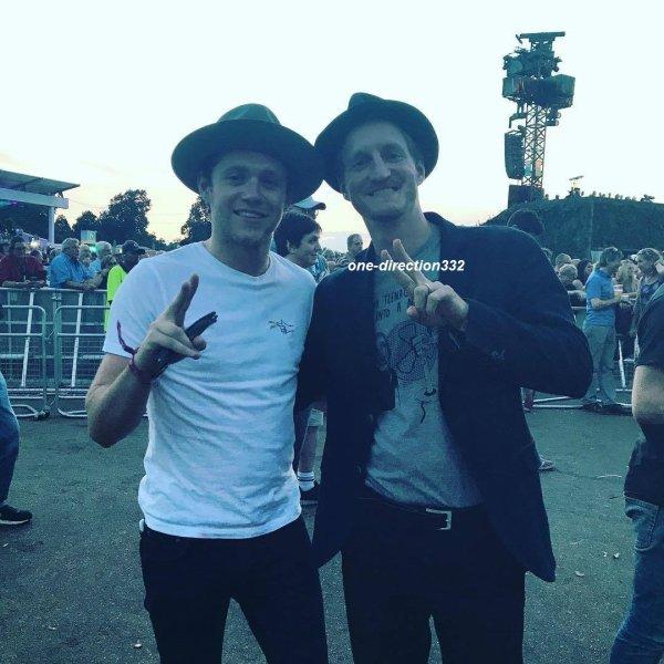 le 9 juillet 2017 - niall au British Summer Time Festival à londres