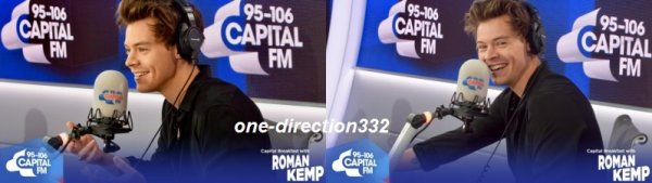 le 17 juillet 2017 - harry à la Capital FM