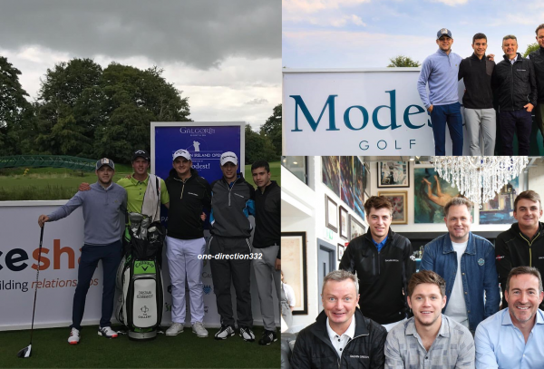 le 7 aout 2017 - niall au golf belfast