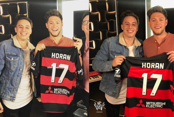 le 11 septembre 2017 - niall a fait sa promo à sydney