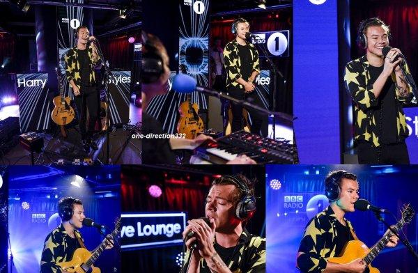 le 11 septembre 2017 - harry a la  BBC Radio 1