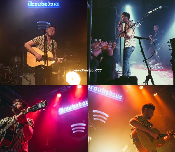le 21 septembre 2017  niall au Spotify Fans First private show à los angeles