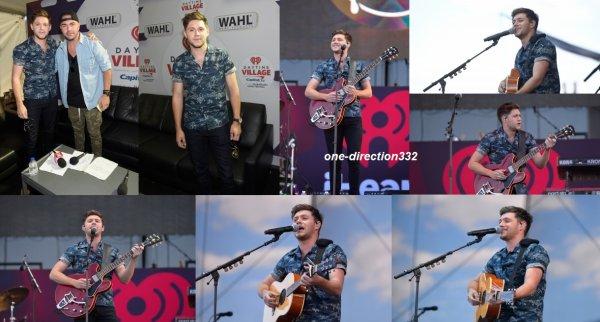 le 23 septembre 2017 - niall à performer au the iHeartRadio au villages à las vegas