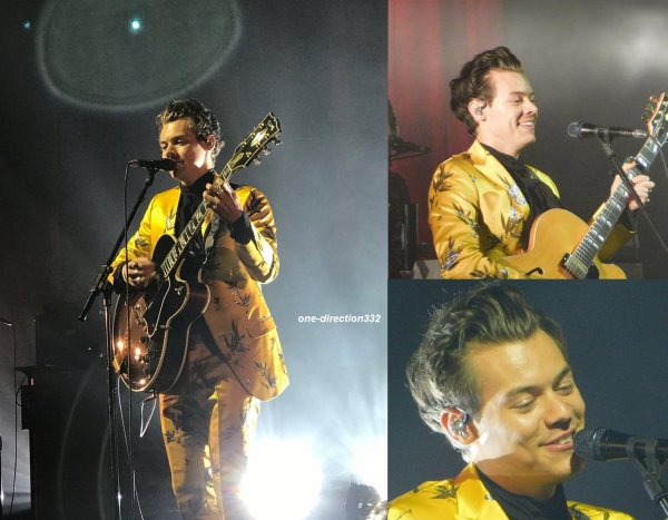 le 30 septembre 2017 - harry à donner un concert à boston