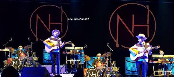 le 1 octobre 2017 - niall à donner un concert à rio