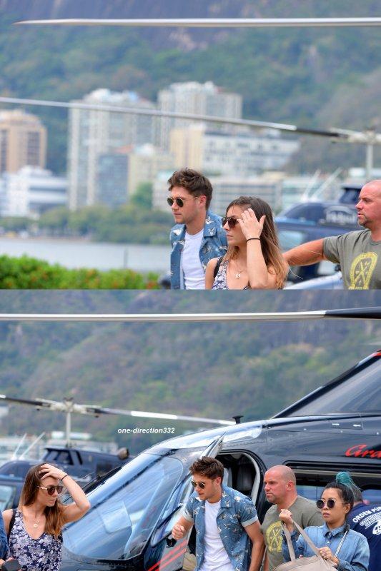 le 2 octobre 2017 - niall avec des fan à rio de janeiro