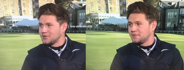 le 5 octobre 2017 - niall à hu interviewed on Sky Sport Golf