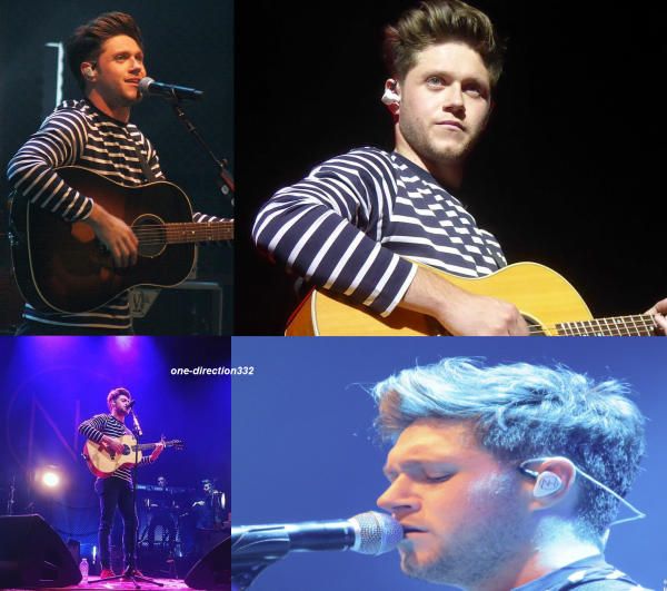 le 1 novembre 2017 - niall a donner un concert à toronto