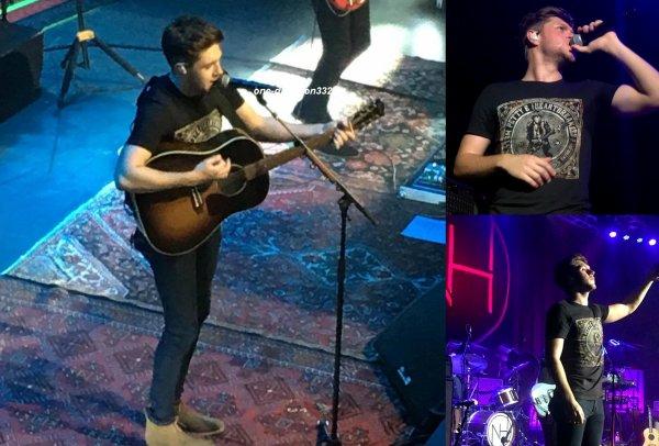 le 4 novembre 2017 - niall à donner un concert à Washington