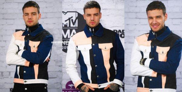 le 12 novembre 2017 - liam au MTV EMAs