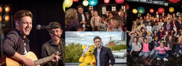 le 18 novembre 2017 - niall au American Music Awards