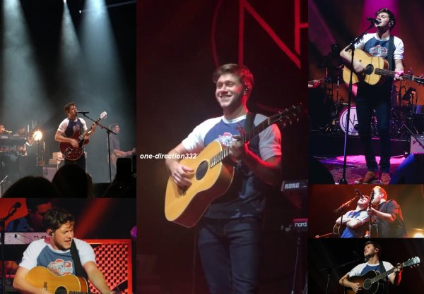 le 22 novembre 2017 - niall a fait son concert à San Francisco