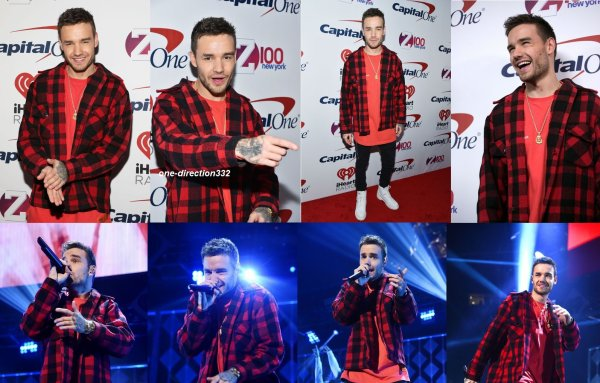 le 8 décembre 2017 - niall et liam au Z100's Jingle Ball 2017 in New York City
