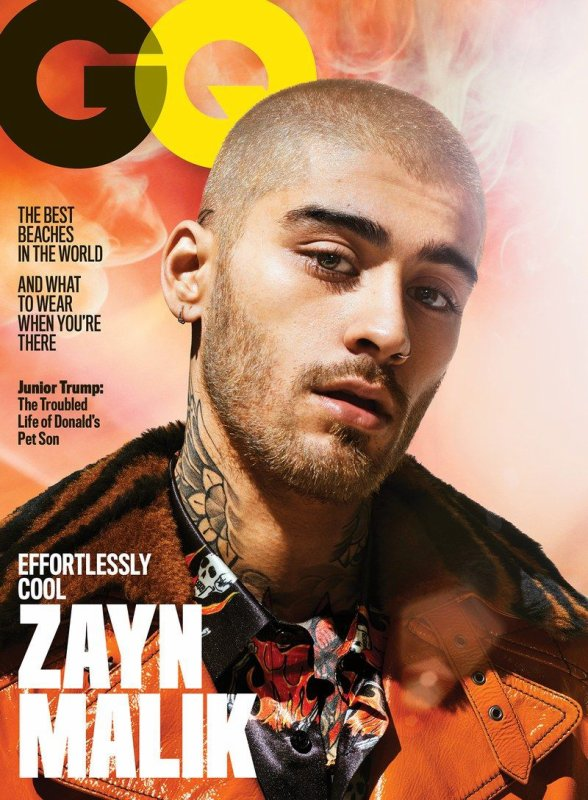 Voici un photoshoot de zayn pour GQ magazine 2018