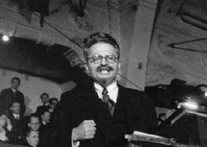 Discours de Trotsky sur la révolution d'Octobre