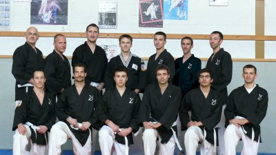 1 ère journée de formation pour les Hapkido-In Normands....