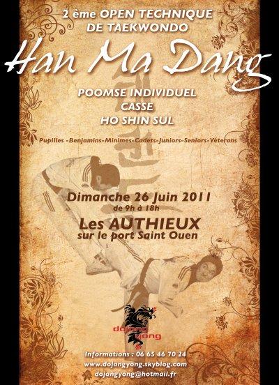 2ème EDITION DU HAN MA DANG, le 26 JUIN 2011