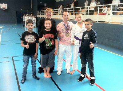Compétition Combat St Jacques sur Darnetal - 100 % podium