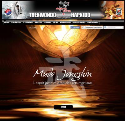 Un site web pour le Dojang Yong...