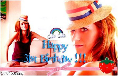 Happy Birthday Hilarie !!!