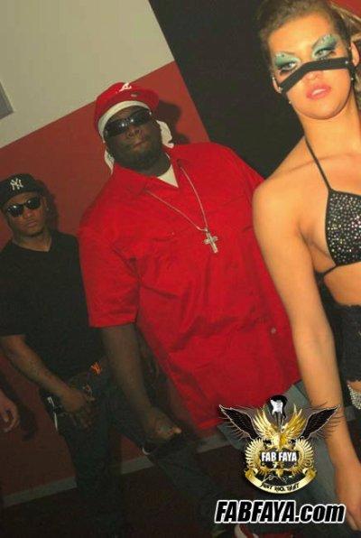 Lil Jon & fab faya @ Rock That party crunk pix yeaaah !