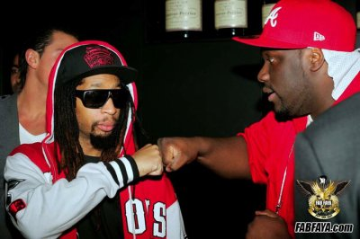 Lil Jon & fab faya @ Rock That party crunk pix yeaaah !