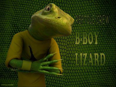 bboy lizard