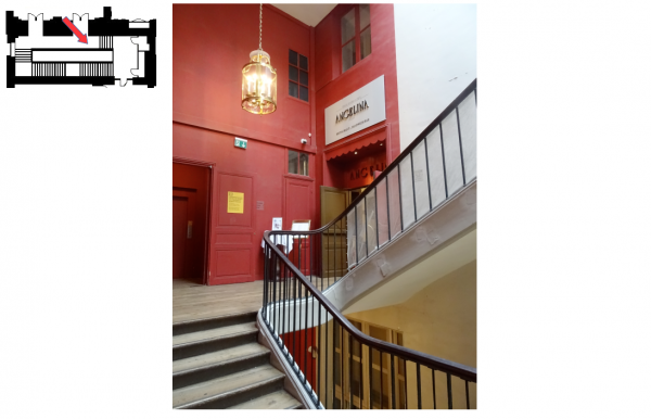 Aile du midi - Premier étage -  256 Escalier d'Orléans