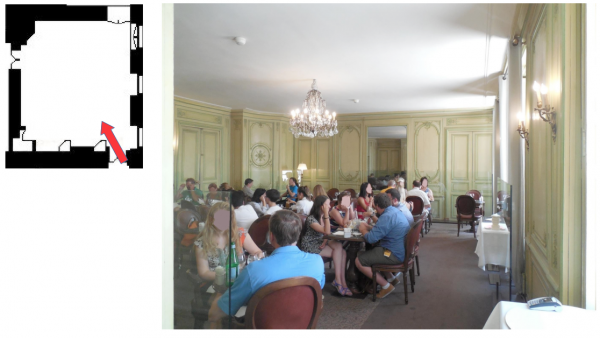 Aile du midi - Premier étage - 259 Grand cabinet de la Duchesse de Luynes