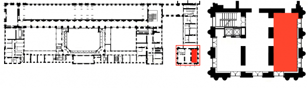 Aile du midi - premier étage- Pavillon Dufour  - 326 Salle 5