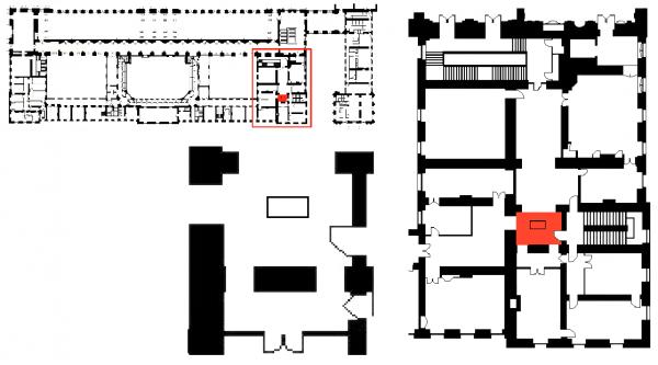 Aile midi - premier étage - Pavillon d'Orléans - 305  restaurant «Angélina» Accueil
