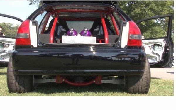 Honda civic moteur chevrolet v8 lsx 454 nitrous system for V8 honda civic