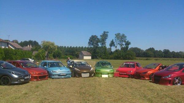 Les plus belles Peugeot du meeting