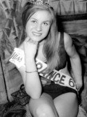 Mlle Jeanne Beck (Miss Normandie) - Miss France 1967 | Flickr