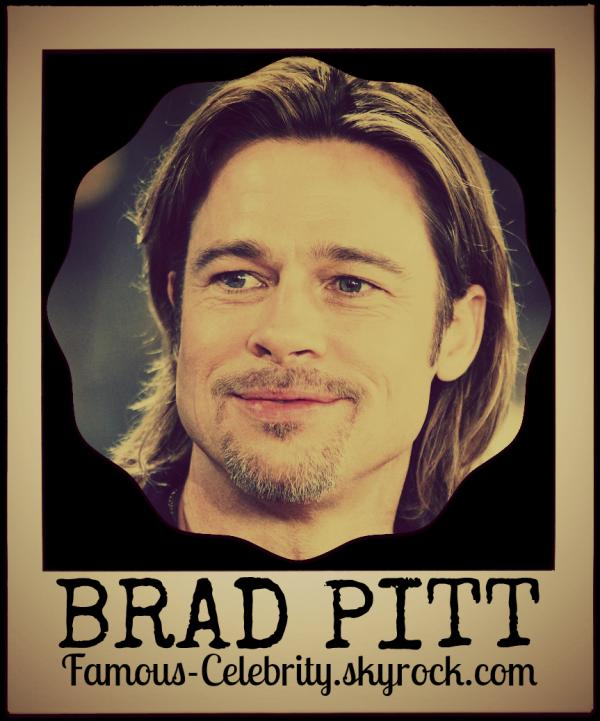 """BRAD PITT"""