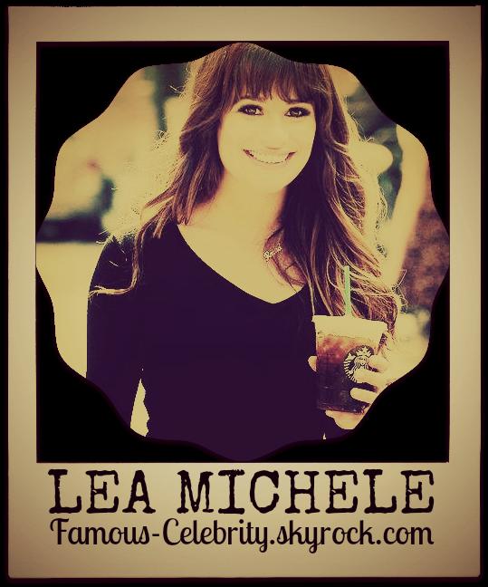 """""""LEA MICHELE"""""""