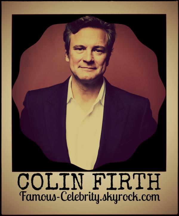 """""""COLIN FIRTH"""""""