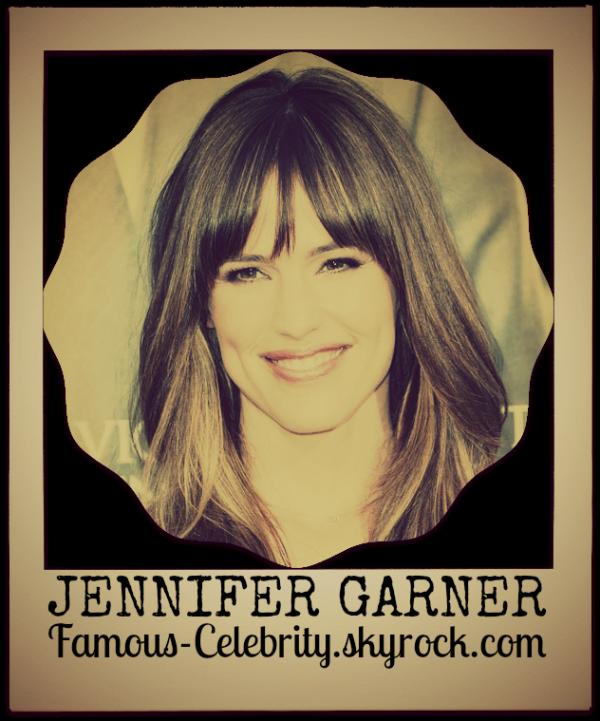 """""""JENNIFER GARNER"""""""
