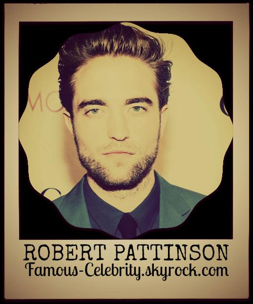 """ROBERT PATTINSON"""