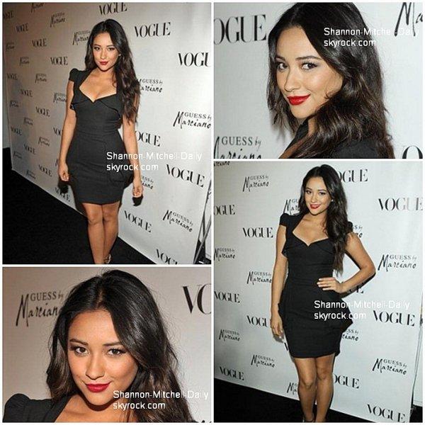Shay et son amie, co-star Bianca Lawson (Maya) étais à une soirée Vogue :)