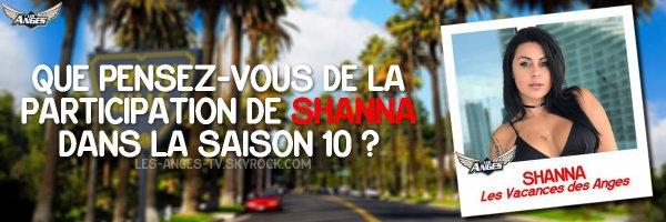 #Before : La participation de Shanna