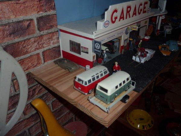 étagère du diorama