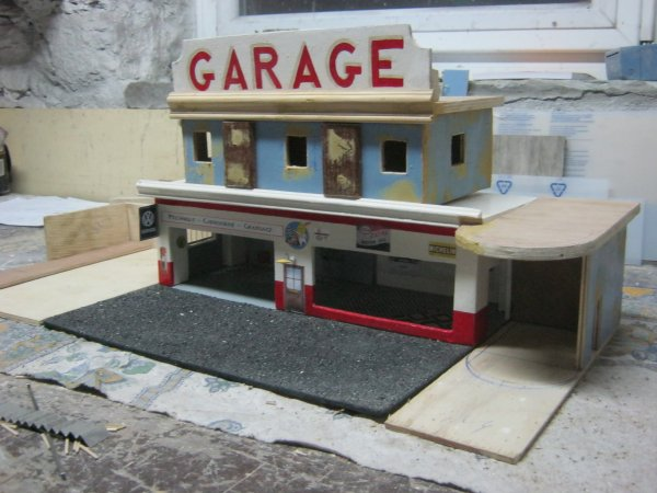 évolution de mon diorama !