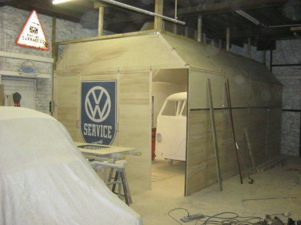 Cabine de peinture part 5 ma vie dans le vintage for Garage de peinture automobile