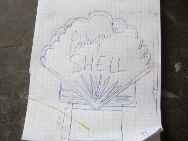fabrication d'un porte carte Shell