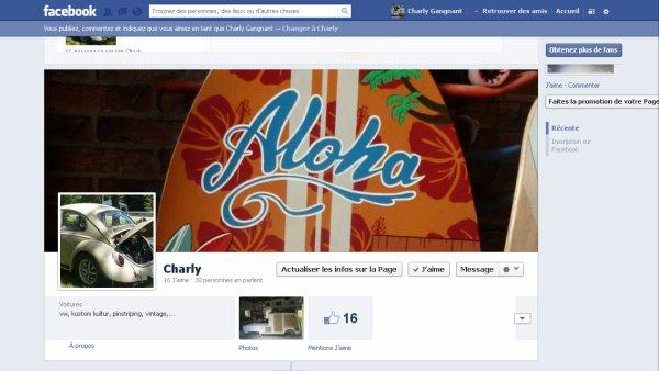 Charly est sur Facebook !!